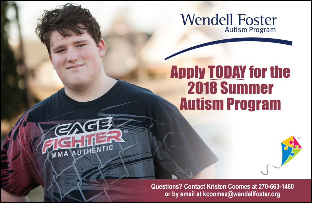 Summer Autism Program Ad